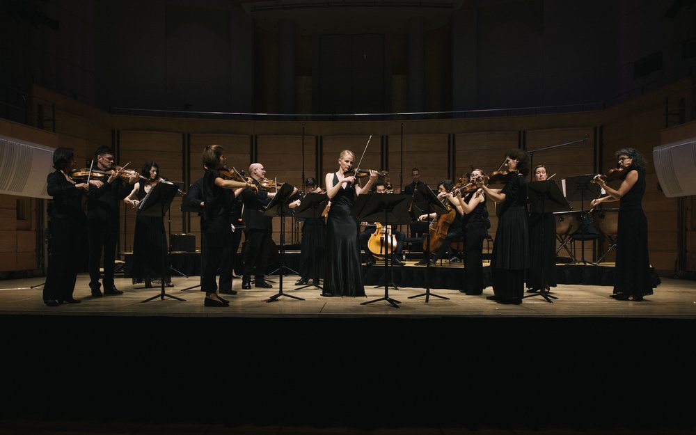 Australian Romantic & Classical Orchestra with Soloist, Concertmaster & Director Rachael Beesley, City Recital Hall, March 2017