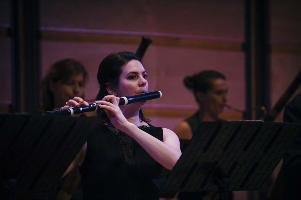 Australian Principal Flute based in Edinburgh Georgia Browne, May 2017
