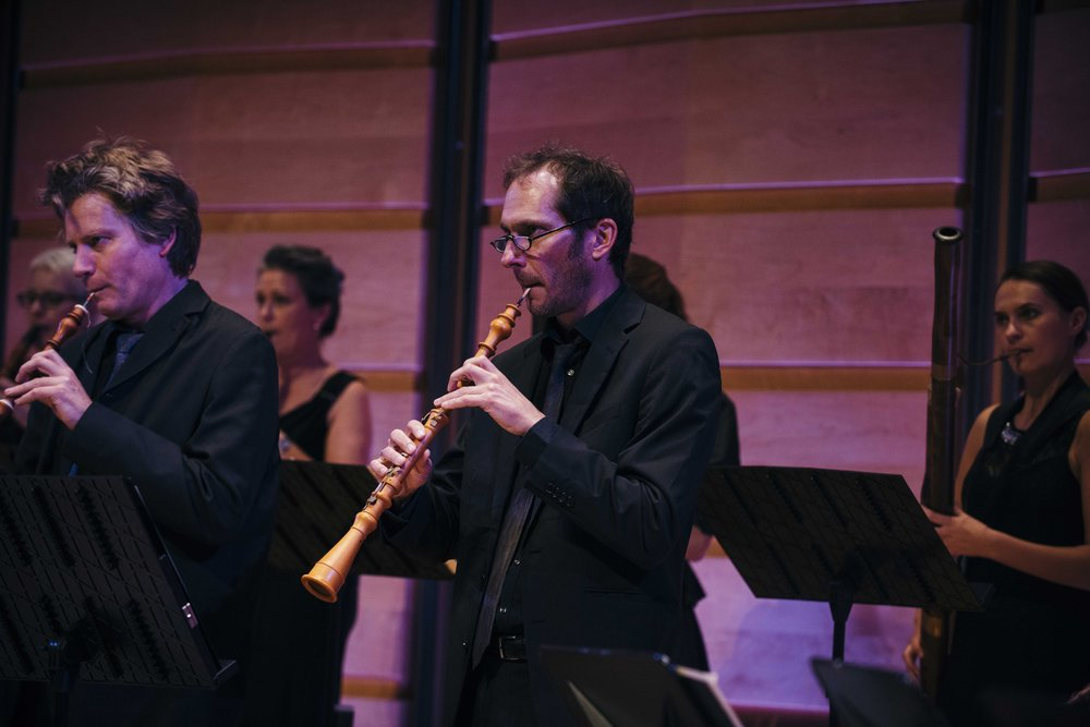 International Guest Oboe Players Eduard Wesly from Amsterdam and Georg Siebert from Karlsruhe, May 2017