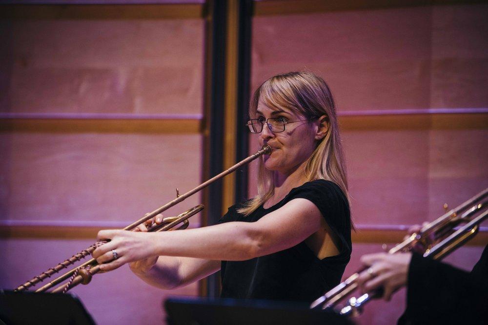 Trumpet player Alex Bieri from Sydney, May 2017