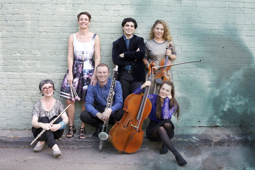 PROGRAM 2 – TEXTURE & TIMBRE - Tuesday 15 May 2018 6:30pmCity Recital Hall, 2 Angel Place, SydneyARCO Chamber SoloistsPeter von Winter, Octet for winds and stringsEnsemble OffspringHolly Harrison, Vibe Rant*Thomas Meadowcroft, Medieval Rococo*Bree van Reyk, Light for the First Time*Cassie To, Avialae*