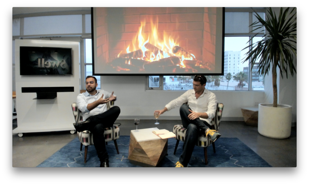 Fireside chat with Ali Safavi