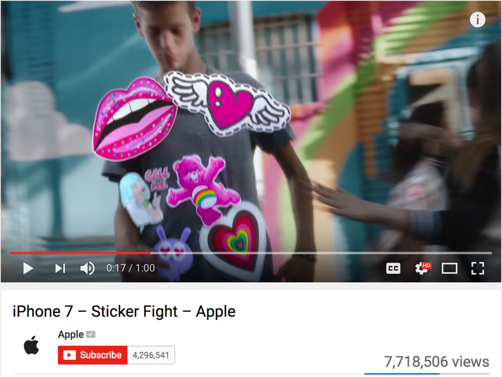 Apple 'Sticker Fight' Ad