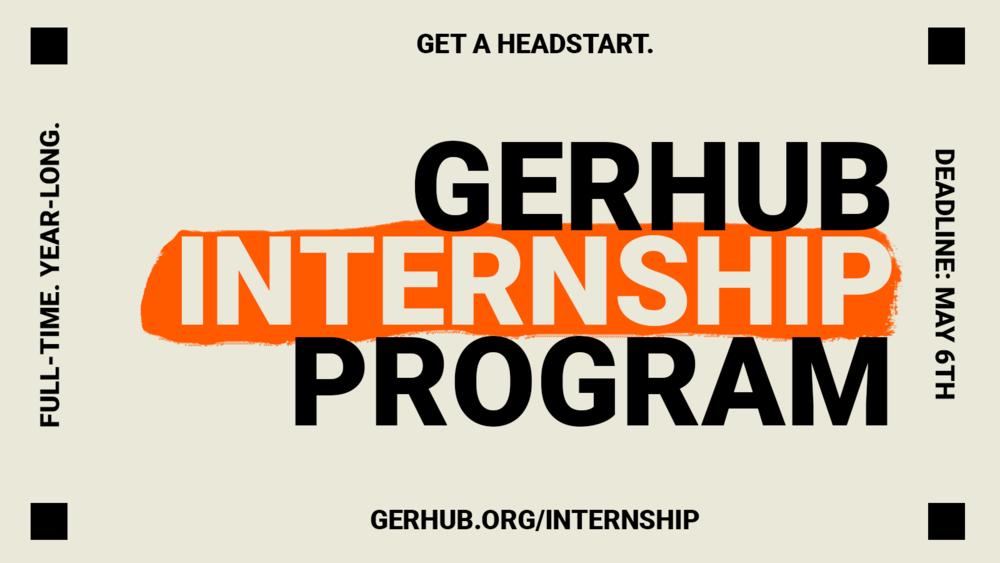 Meaningful Gap Year at GerHub