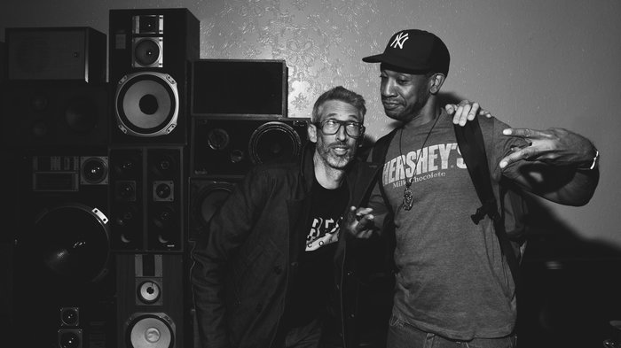 Stretch Armstrong (left) and Prince Paul at the Ace Hotel Sept. 25. Ebru Yildiz for NPR