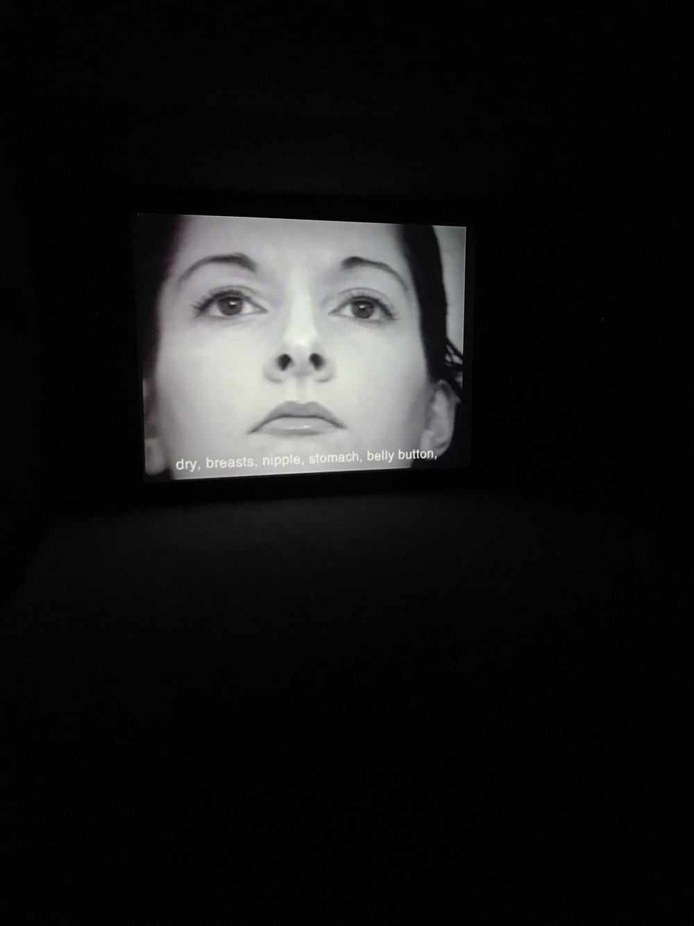"Marina Abramovic ""Freeing the Voice"" (1975), ""Freeing the Body"" (1975) and ""Freeing the Memory"" (1985) (Still)"