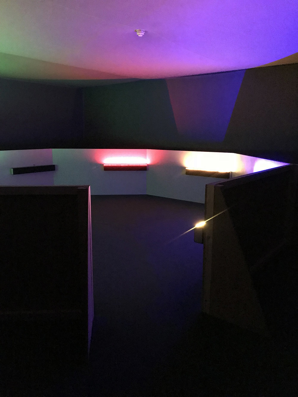 "Haroon Mirza: A Chamber for Horwitz; Sonakinatography Transcriptions in Surround Sound"" (2015)"