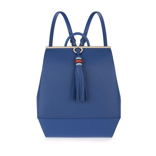 c9134d405 Aya Backpack in Ennigaldi Blue — Ennigaldi I Luxury Designer Handbags I  London I Online Store