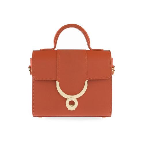 abc1f23881cd Plain Sarapanit in Orange — Ennigaldi I Luxury Designer Handbags I London I Online  Store