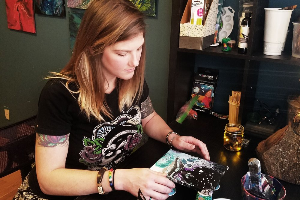 Behind The Art: An Interview with Ashley Stagg
