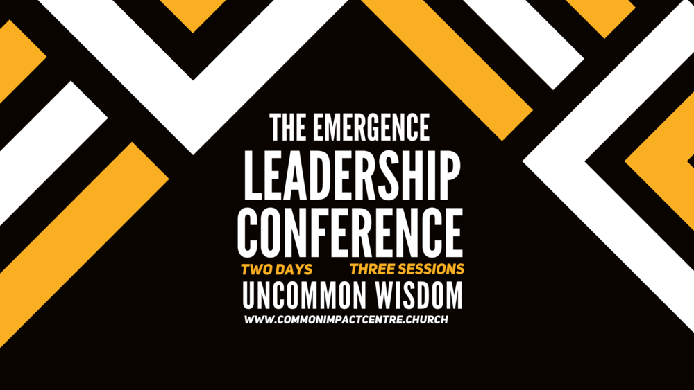 Church Of God Mission International - Common Impact Centre - The Emergence Leadership Conference 2018