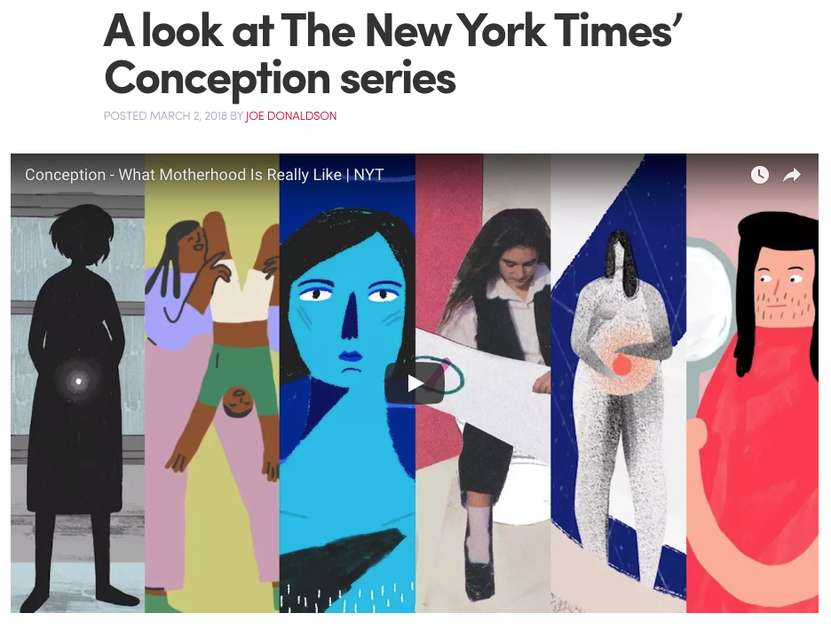 Motionographer - Conception: Catie + Jen - The New York Times