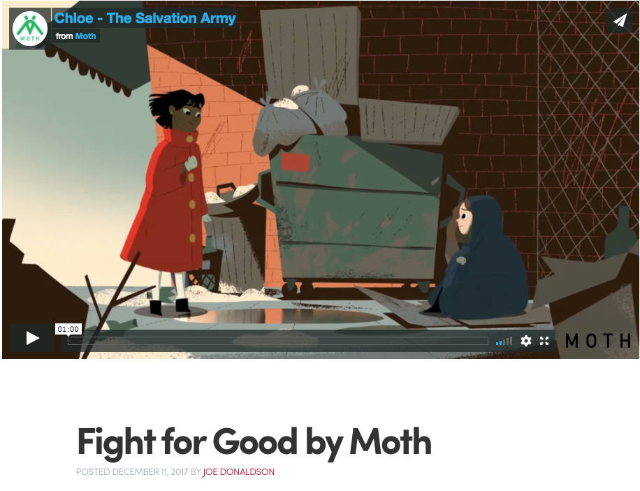 11/12/2018 Motionographer - The Fight for Good - The Salvation Army