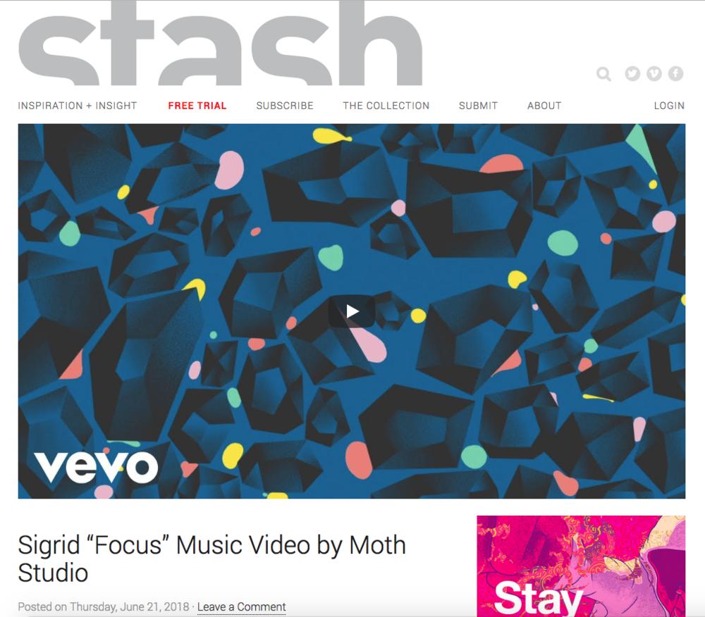 Stash - Sigrid: Focus - Island Records
