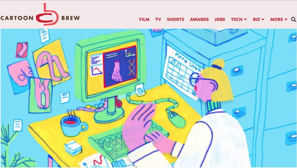 Cartoon Brew - Better Humans - Massive Science