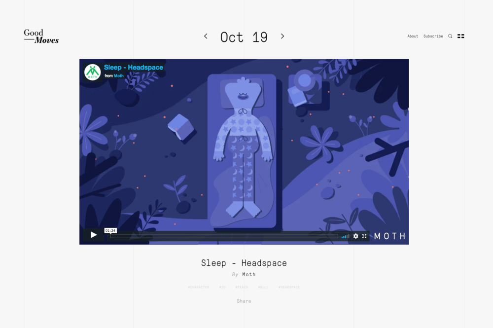 Good Moves - Sleep - Headspace