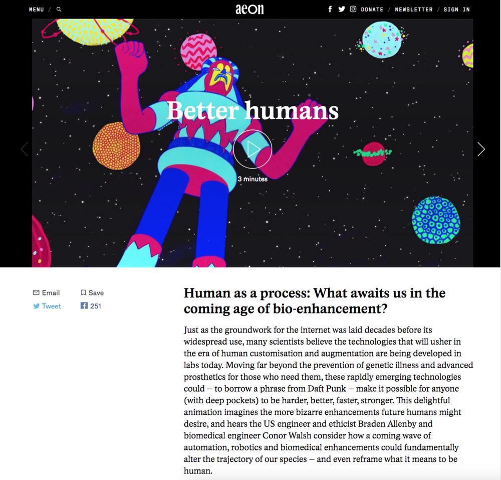 Aeon - Better Humans - Massive Science