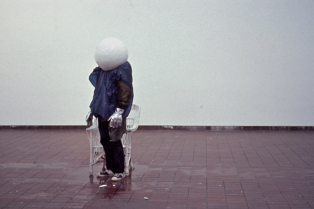 White Ice Ball 1