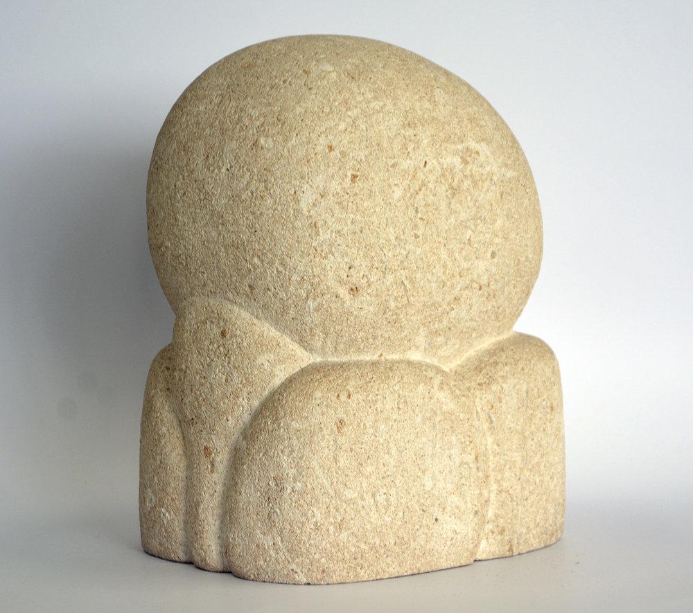 Kleine Figur, Savoniere No 2. Sandstein? 16 x 15 x 20