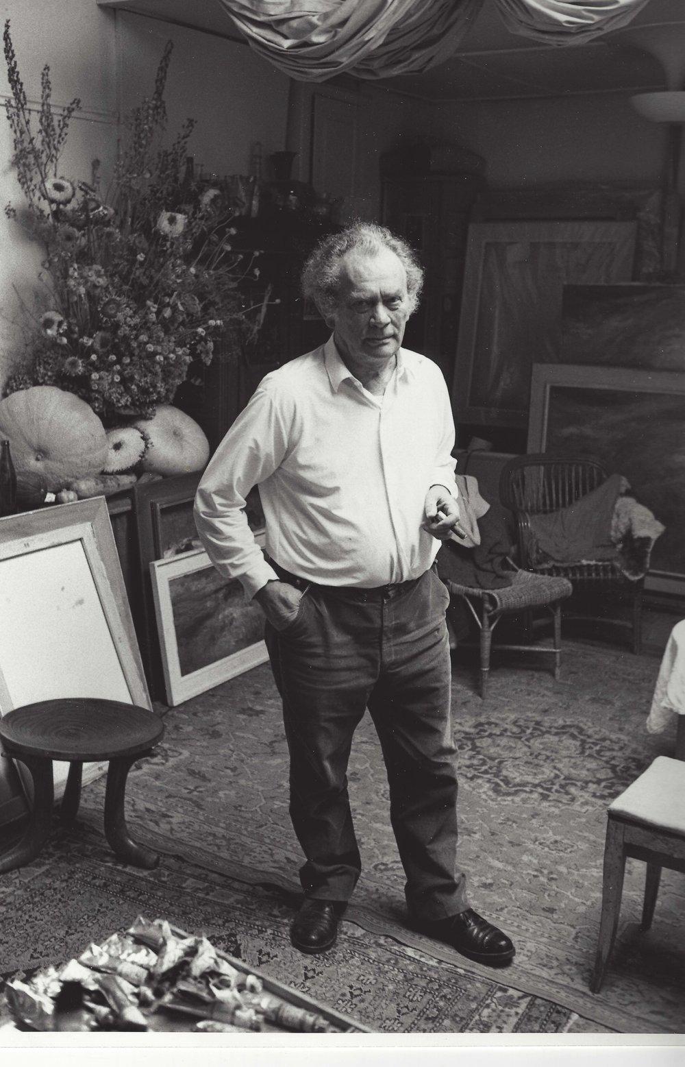 Weber, Karl_in Atelier Foto Rainer Tuggener 1967 8.jpg