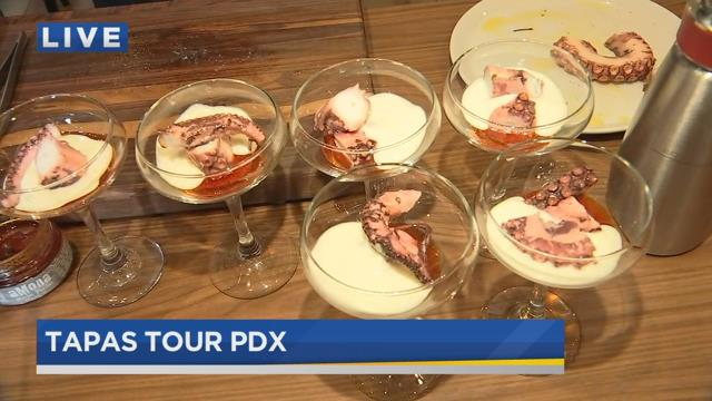 Interview at Morning Joe with José Chesa : http://www.kptv.com/story/35643383/on-the-go-with-joe-at-world-tapas-day