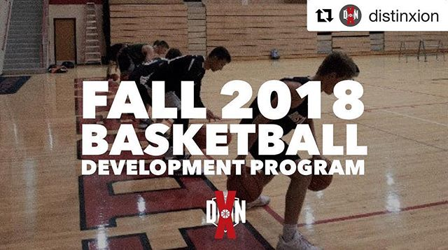 5TH-12TH GRADE MEN'S AND WOMEN'S BASKETBALL PLAYERS: If you're trying to gear up for the 2018 basketball season, check out our Fall Development Program that's designed to be an elite development program for Middle School and High School student-athletes, challenging you in your leadership and character on and off the court! Learn more and apply at the 🔗 in our BIO! #bepositivelydifferent