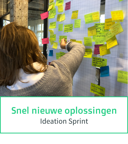 Snel nieuwe oplossingen - Ideation Sprint