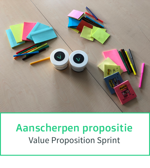 Aanscherpen huidige propositie - Value Proposition Sprint