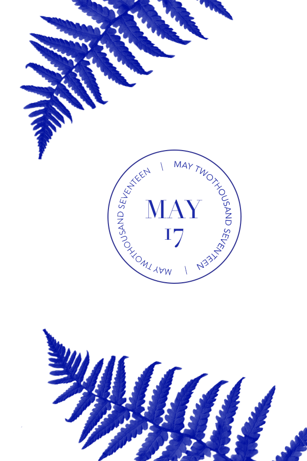 May 2017 by Phylleli. A new month is always a good starting point for new goal setting and self-improvement. So what are your plans and goals for May 2017? #graphicdesign #minimal #whitespace #maylogo #designer #design #freelancer #typography #phylleli #fern