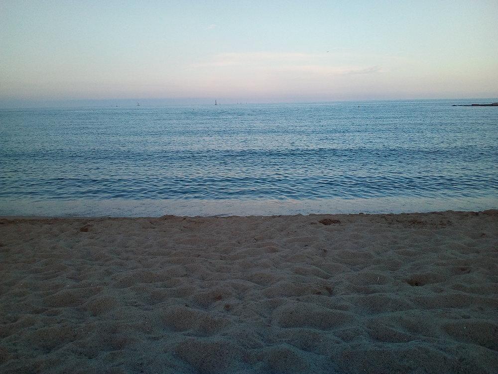 the Mediterranean sea #ocean #beach #barcelona #barceloneta