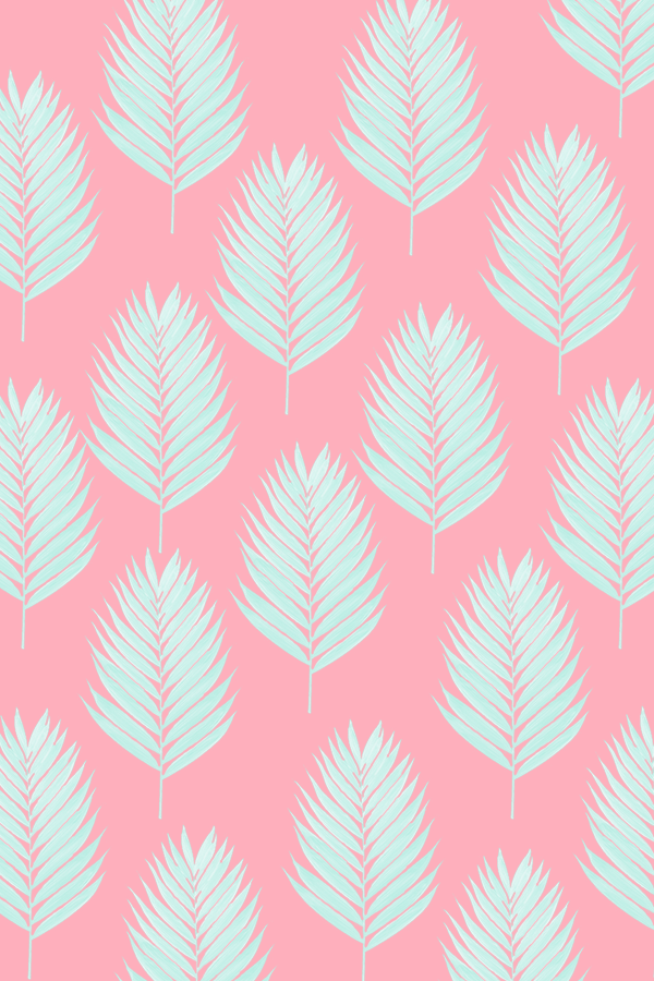 Downloadable Palm Leaf Pattern Wallpapers For You In Different Colours