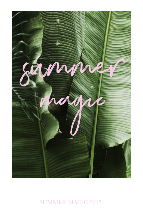 Summer Magic 2017 by Phylleli #graphidesign #typography #design #editorialdesign #posterdesign #layout #freelancedesigner #summer2017 #summer #summermagic