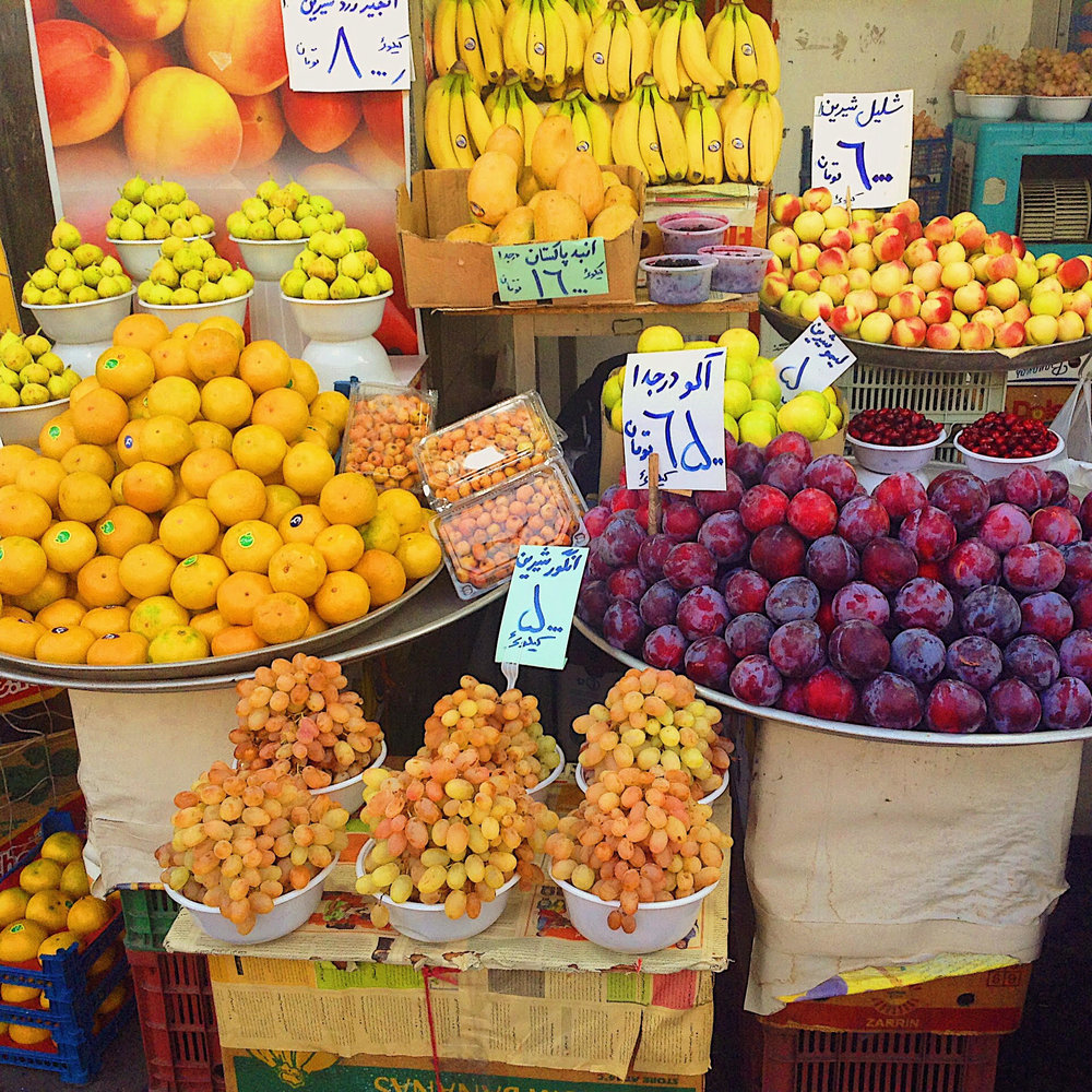 Fruit in Tehran