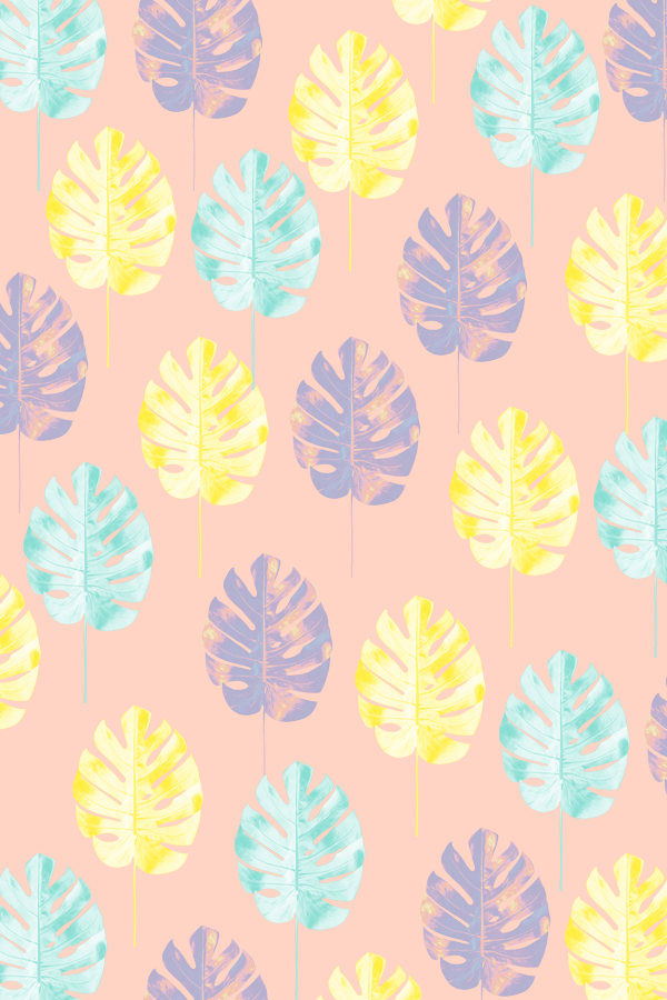 #pattern #tropicalleaf #phylleli #graphicdesign #design