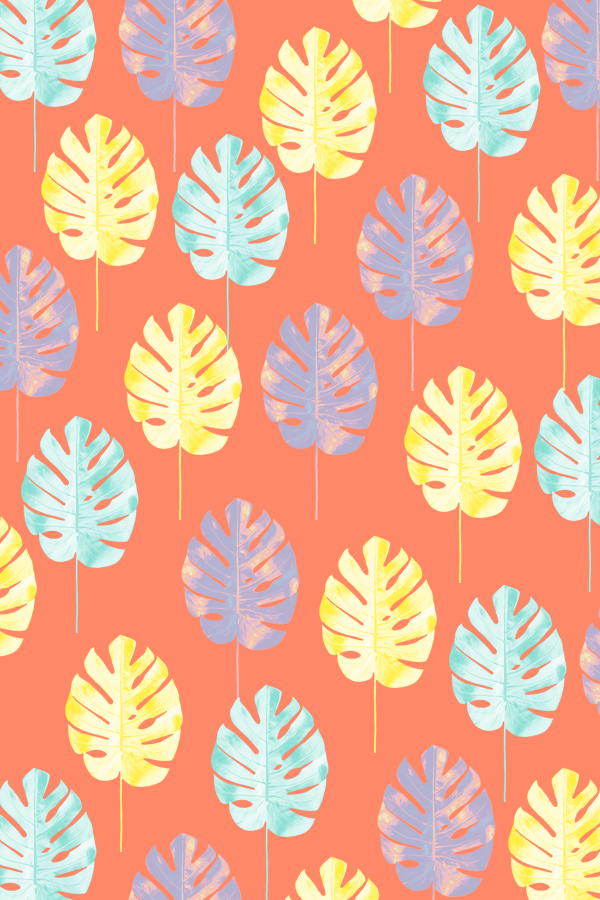#tropicalleaf #phonebackground #pattern #phylleli #graphicdesign #design #summervibes