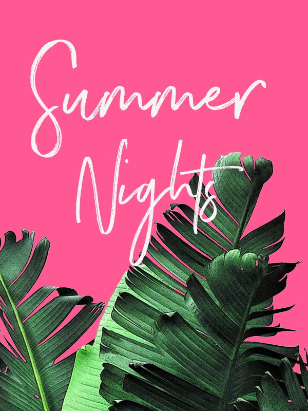 summer nights by phylleli #graphicdesign #design #summer #summernights #graphicdesigner #blogger #freelancedesigner
