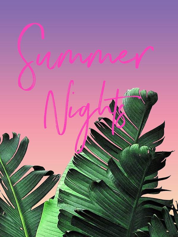 #design #graphicdesign #summernights #graphicdesigner #summergraphics