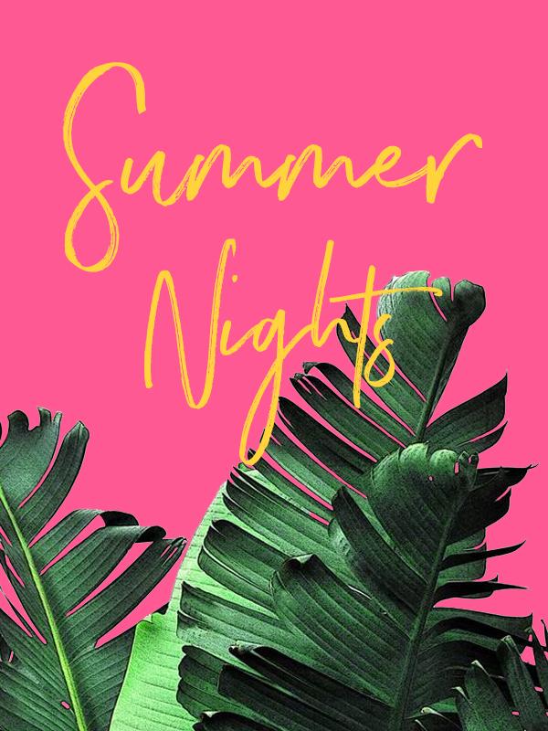 #summernights #summergraphic #phylleli #blogger #graphicdesigner #graphicdesign #summerdesign #vibrantcolors