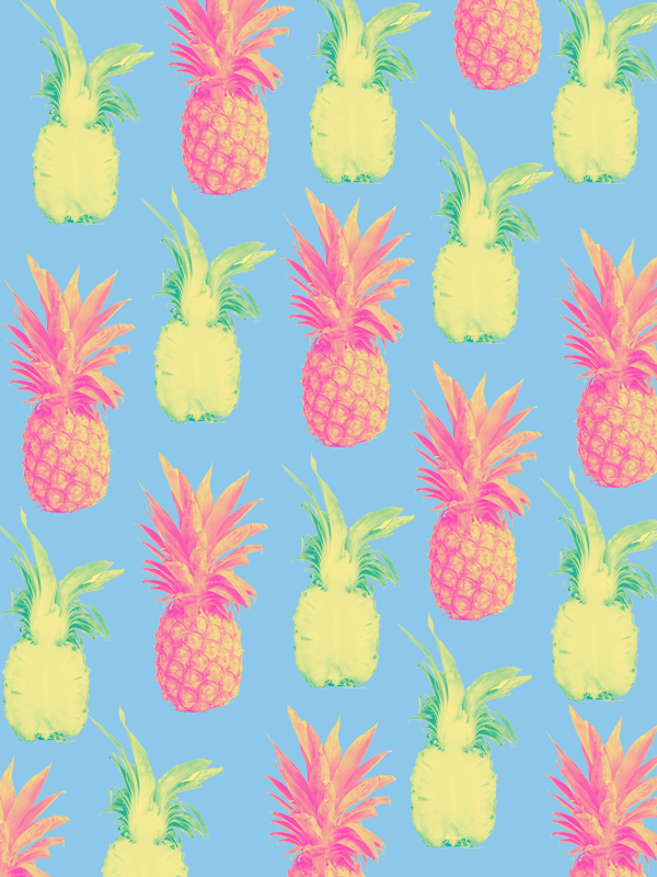 #downloadablewallpaper #pineapple #phonebackground #patterndesign #graphicdesign #graphicdesigner #summer #summergraphic #vibrantcolors