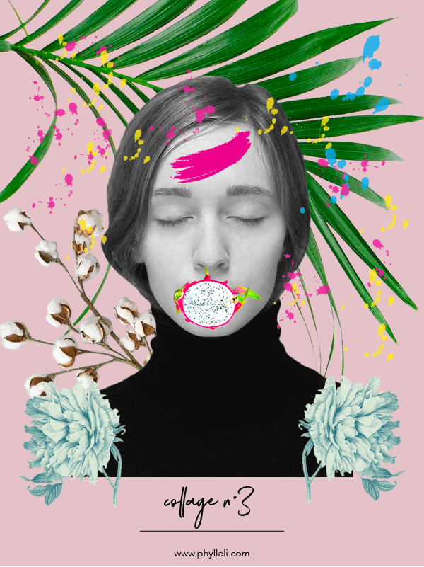 Collage No. 3 by Phylleli #graphicdesign #typography #design #creative #creativity #designblog #collage #collageseries #freelancedesigner #acollageaday #blogger #blogging