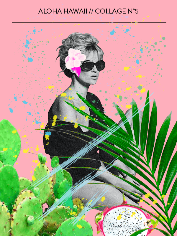 Collage No. 5 by Phylleli #collage #no5 #alohawaii #hawaiionmymind #creative #creativity #60collages #design #graphicdesign #workwithme #freelance #freelancedesign #freelancedesigner #realism #typography
