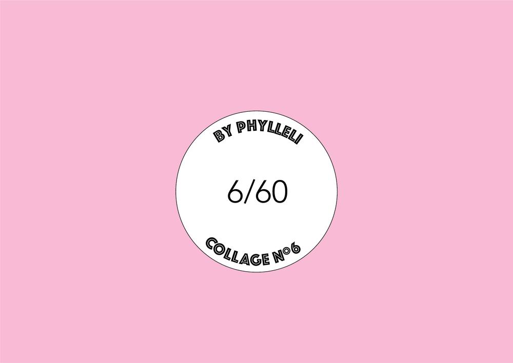 collage no. 6 logo by phylleli #branding #onlinebranding #logodesign #logo #6of60 #branddesigner #freelancedesigner #brandstylist #workwithme