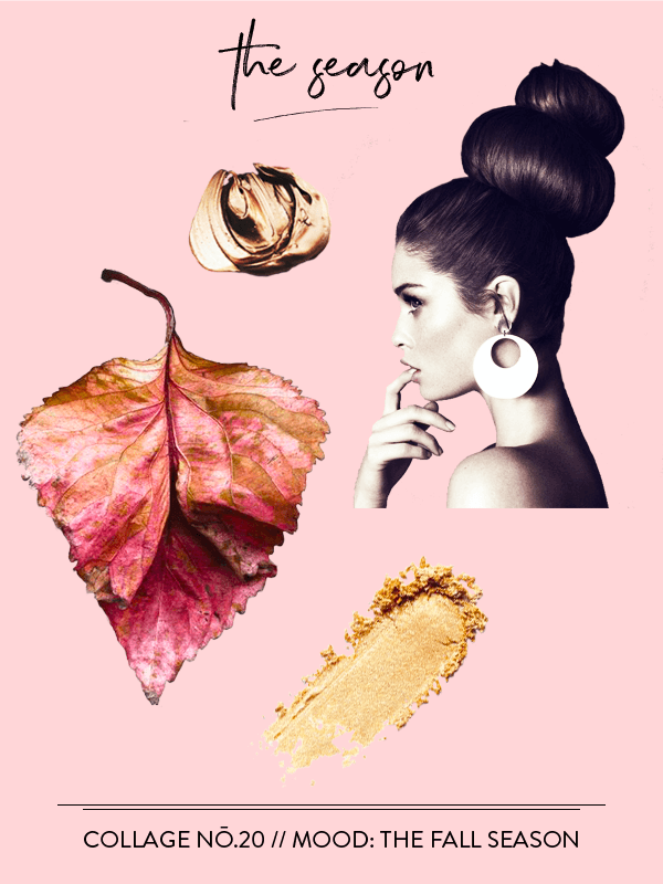 Collage No. 20 // The Collage Series by Phylleli #collage #design #thecollageseries #fall #theseasonfall #autumn #september #goldenlight #artdirection #editorialdesign #layout #freelancedesigner #minimalism #fashion #magazinestyle #freelancedesigner #branding #artdirection