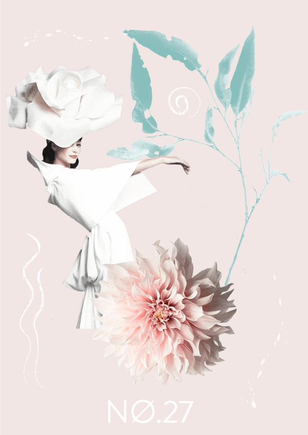 Collage No. 27 // Pastel Mood #design #graphicdesign #thecollageseries #freelancedesigner #editorialdesign #artdirection #softtones #phylleli #magazinestyle #nature #flowers #fashion
