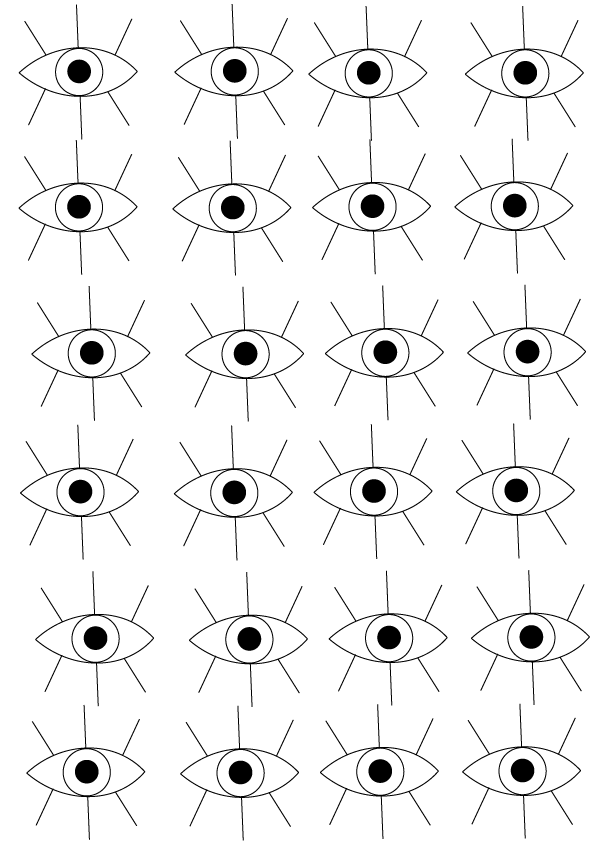 #pattern #patterndesign #graphicdesign #graphicdesigner #freelancer #designblog #eyepattern #minimal #geometrical