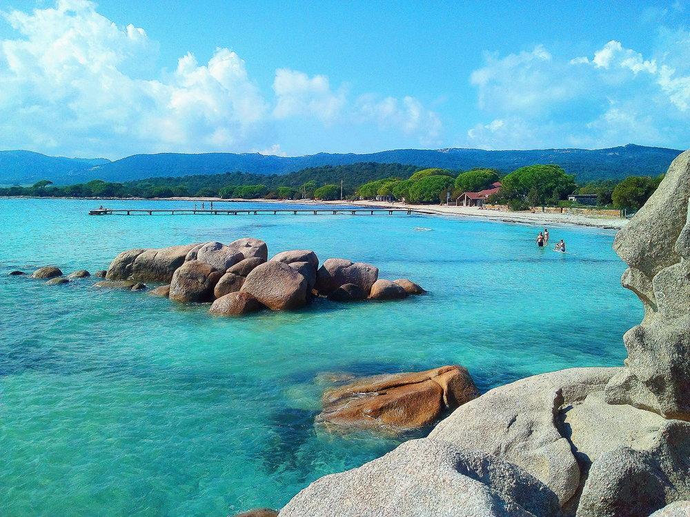 Santa Giulia beach Corsica
