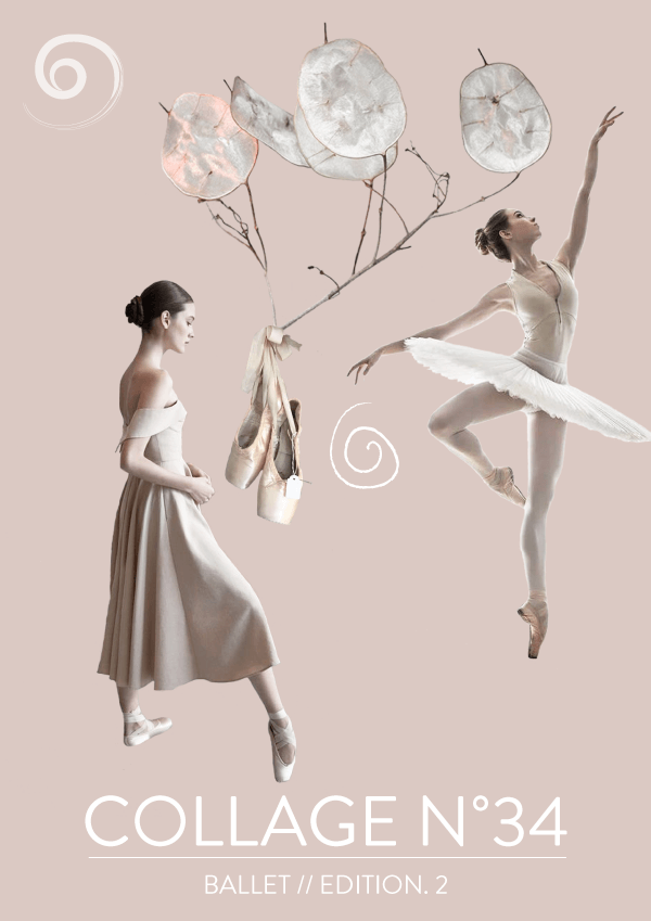 Collage No. 34 // Ballet 2nd. Edition #design #graphicdesign #branding #artdirection #editorialdesign #layout #designblog #blogging #ballet #balletlover #dance #femininedesign