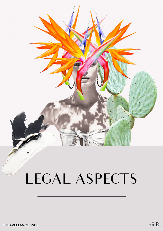 The Freelance Issue No. 8 // Legal Aspects #design #graphicdesign #editorialdesign #thefreelanceissue #designblog #magazinedesign #branding #layout #typography #collage
