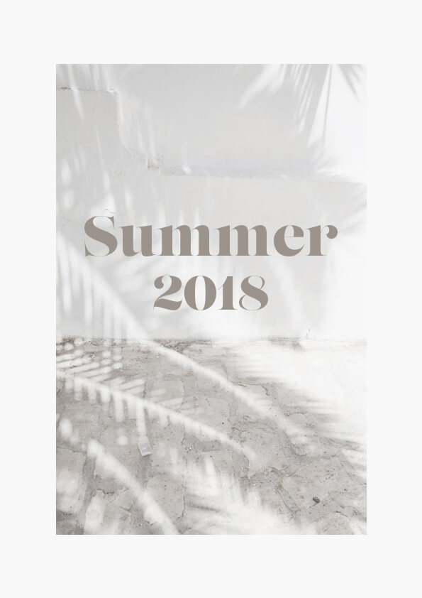 Summer 2018 // The Logo Series #design #typography #summer #layout #graphicdesign #designblog
