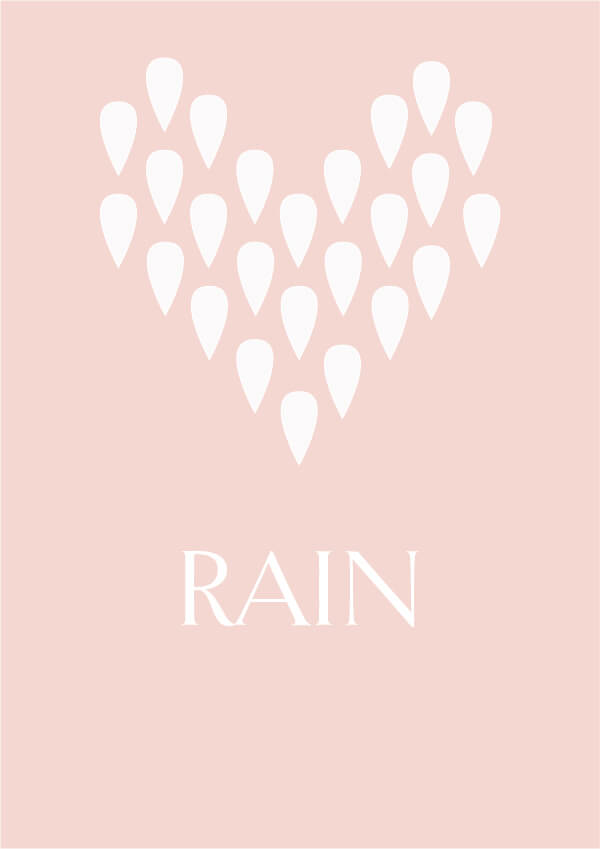 Current Mood // Rain #design #graphicdesign #currentmood #designblog